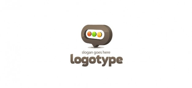Blog logo-design-vorlage