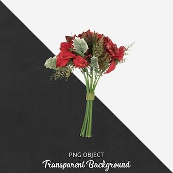 Blume auf transparentem