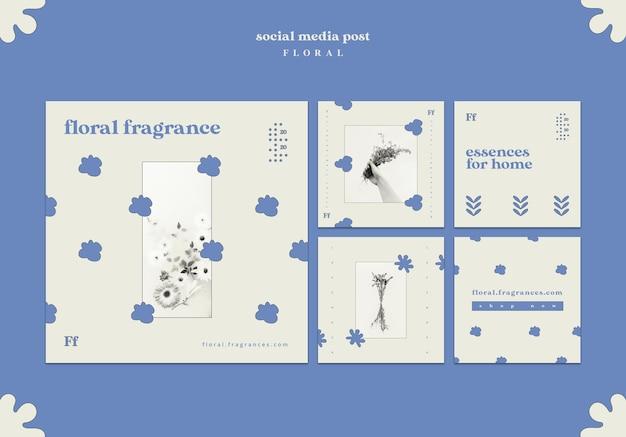 Blumenduft social media post