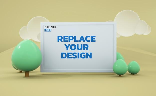 Board-3d-rendering-modelldesign