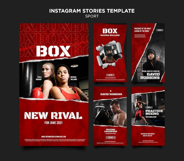 Box social media geschichten