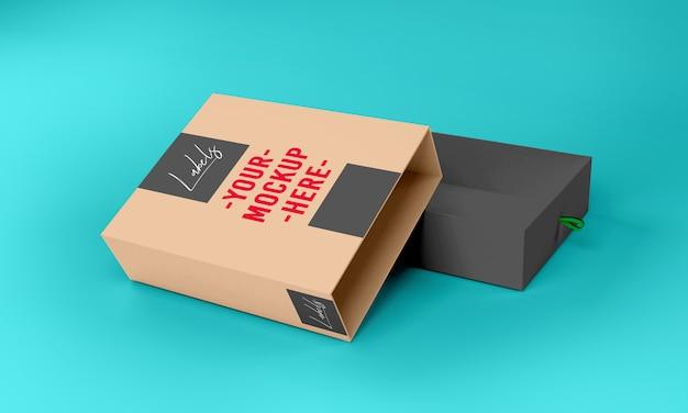 Box verpackung modell