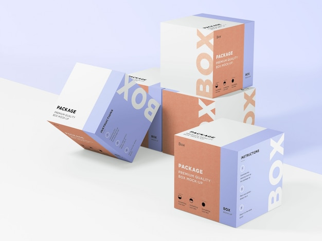 Boxen sammlung mock up