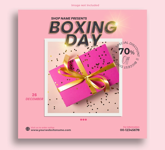 Boxing day shop präsentiert post