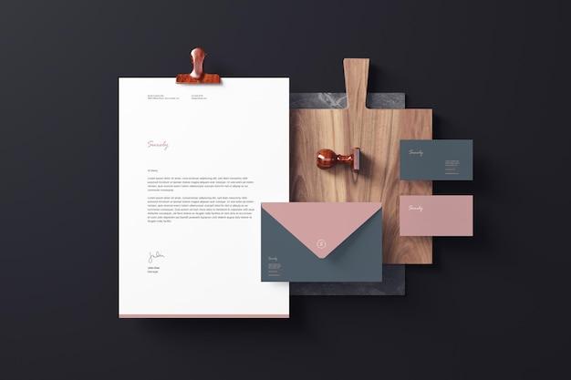 Branding briefpapier modelle