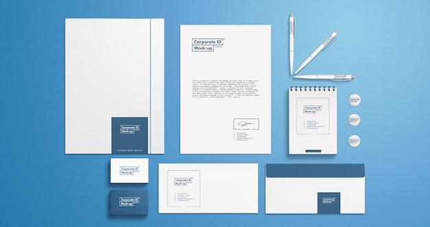 Branding identity mock-up-set für