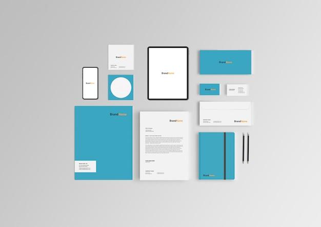 Branding stationäres modell