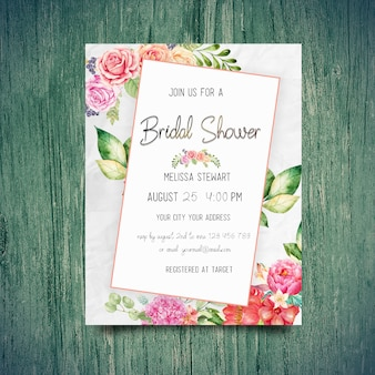 Brautduschen-einladungen