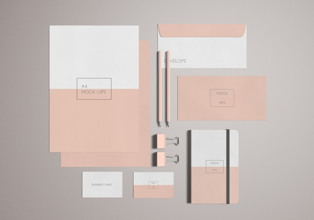 Briefpapier / branding-modell