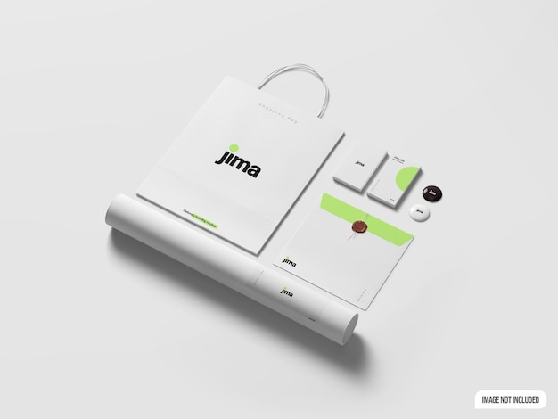 Briefpapier branding mokup