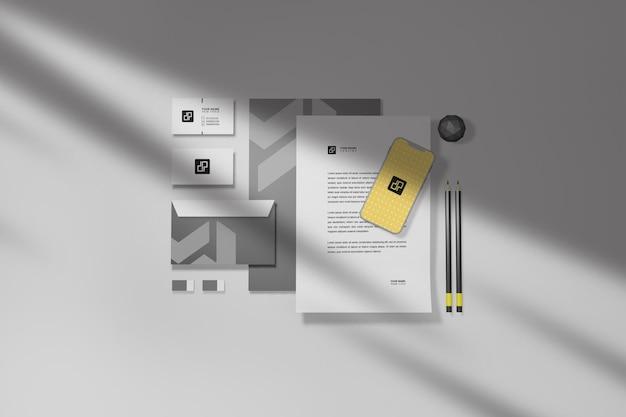 Briefpapier-mockup-set