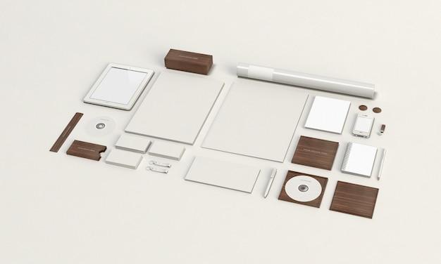 Briefpapier-modell