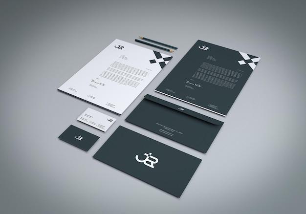 Briefpapier-set business-modelle