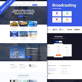 Broadcasting-website-schnittstelle