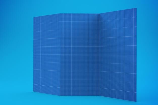 Broschüre design mockup