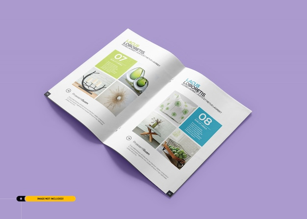 Broschüre magazine mockup