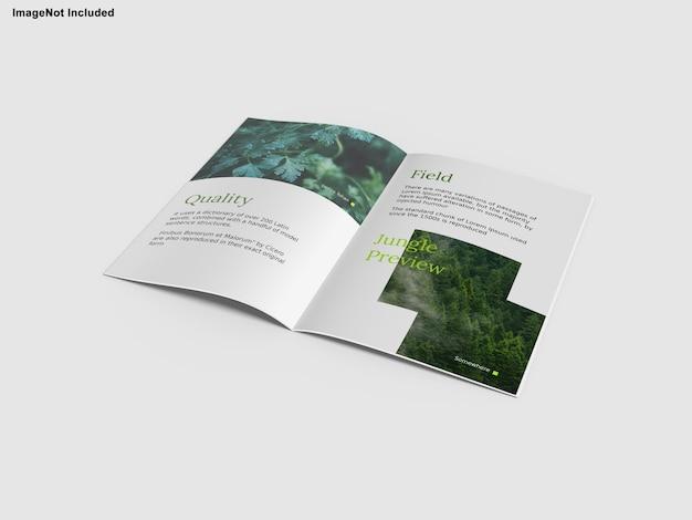 Broschüre magazinmodell