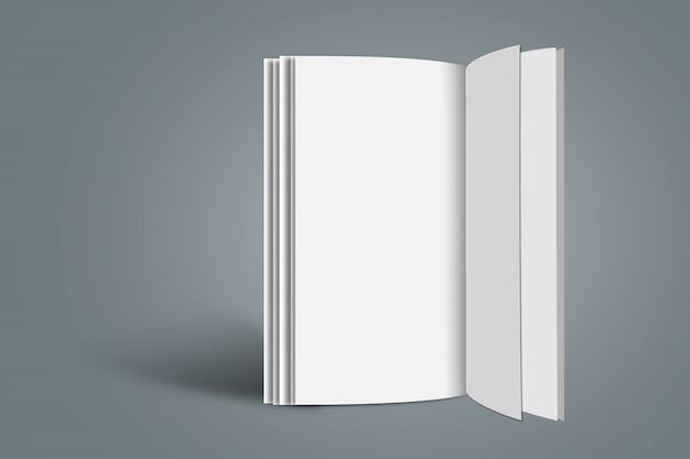 Broschüre mockup template a4 größe