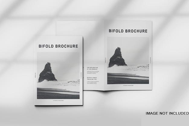 Broschüre und katalogmodell