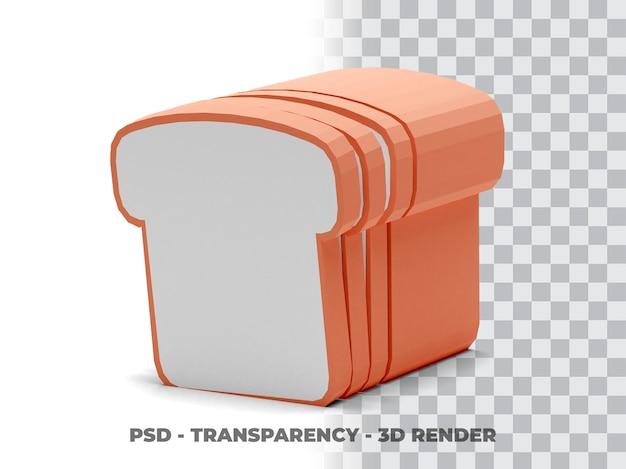 Brottransparenz 3d-darstellung