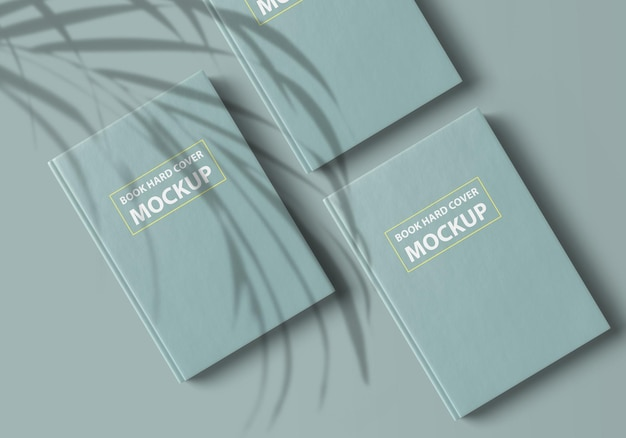 Buch hardcover mockup design