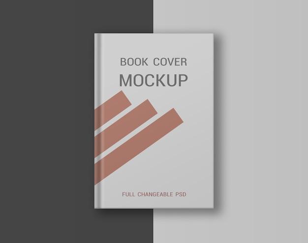 Buch hardcover-modell isoliert