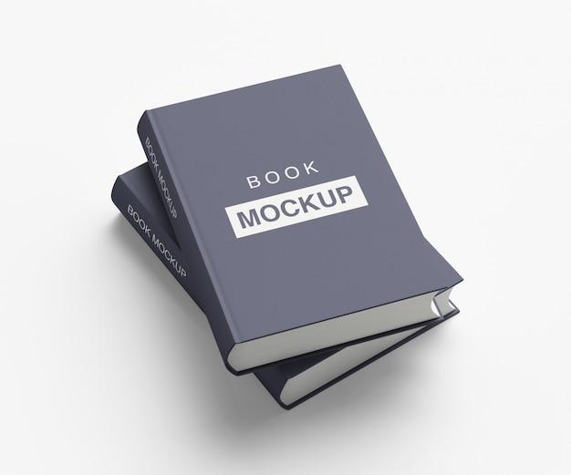 Buch- oder zeitschriftencover-modell