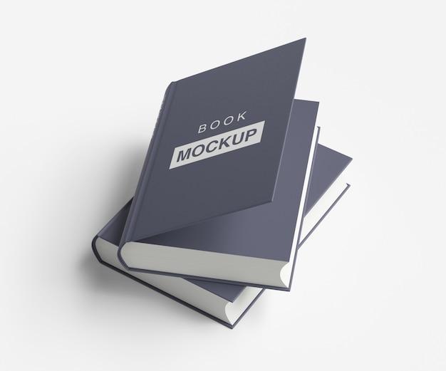 Buch- oder zeitschriftenmodelldesign