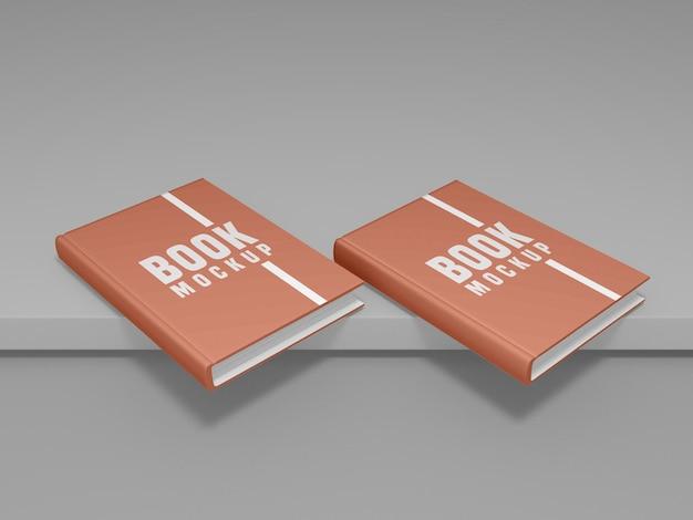 Buchcover design mockup psd