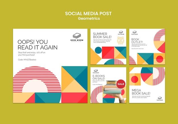 Buchen sie social-media-beiträge im outlet