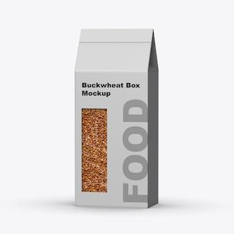 Buchweizen-box-modell isoliert