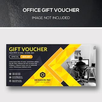 Büro-geschenkgutschein