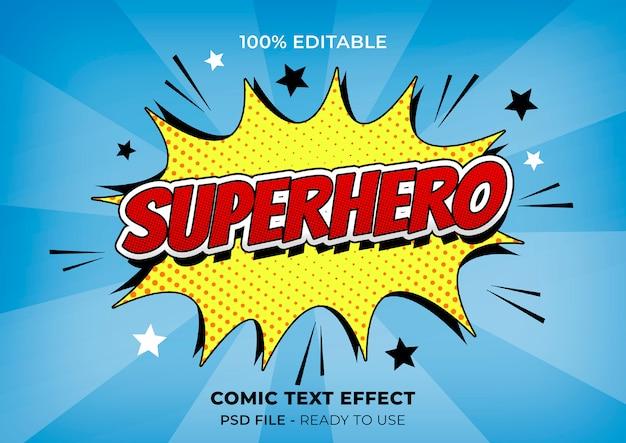 Bunter comic-effekt