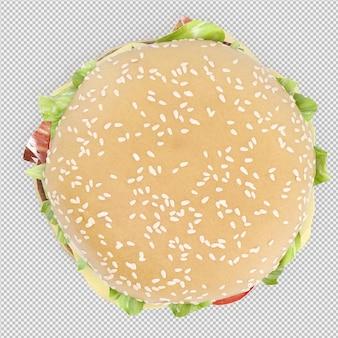 Burger 3d lokalisiert übertragen