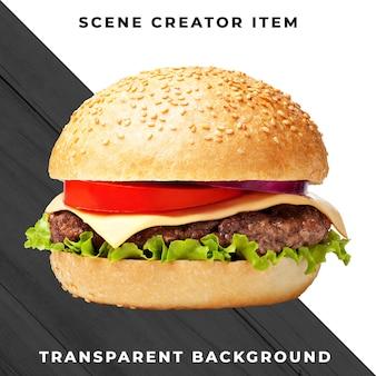 Burger zutat transparent psd