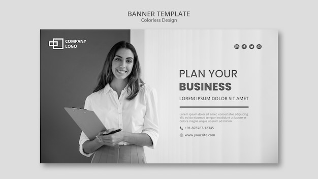 Business-banner-vorlage