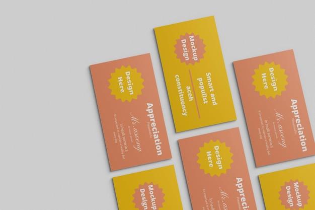 Business card modernes mockup