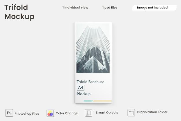Business-dreifachbroschüre design premium psd