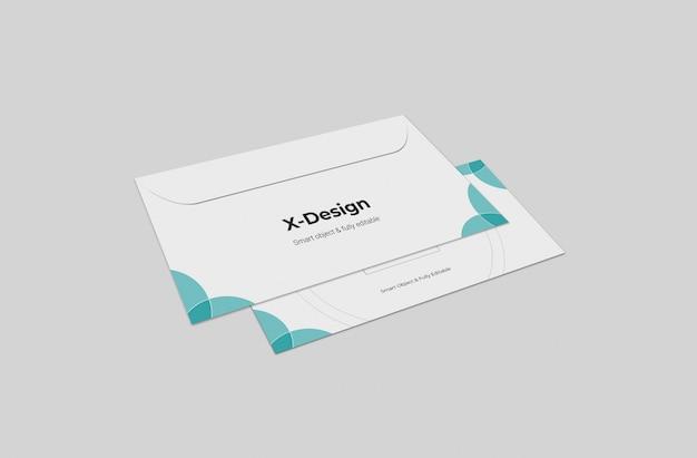 Business envelope mockups template