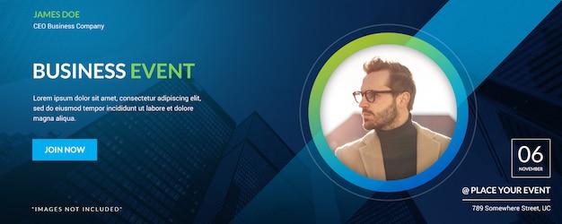 Business event flyer design. minimalistisches firmenbanner // bitte keine komplexen tags // nur ein wort-tag oder einfache tags //