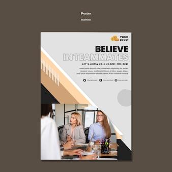 Business flyer a5 vorlage