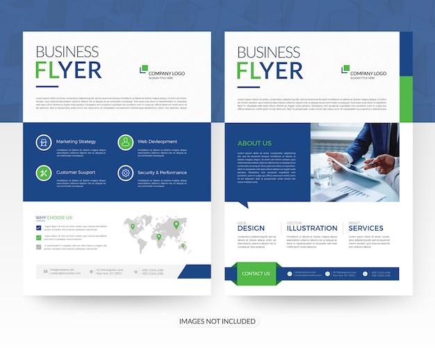 Business flyer vorlagen