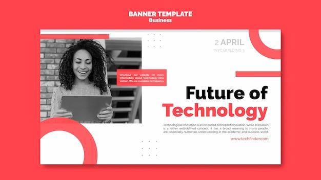 Business innovation banner vorlage