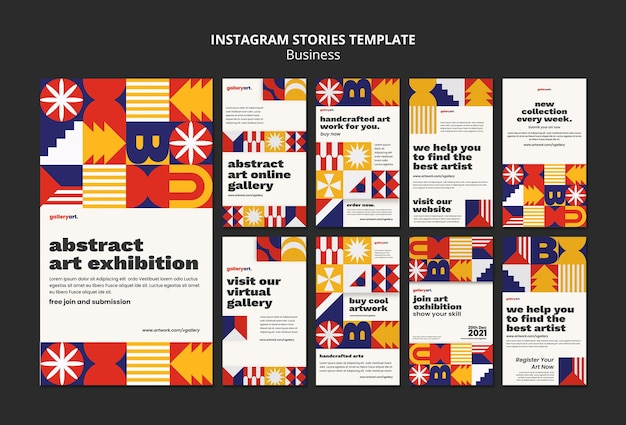 Business instagram geschichten vorlage sammlung