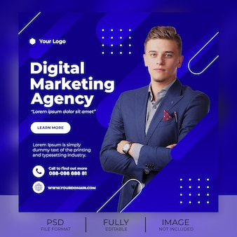 Business instagram post vorlage banner