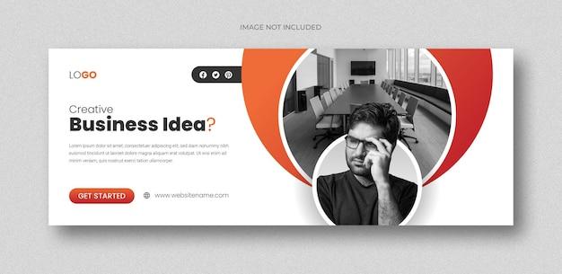 Business-konferenz-social-media-banner-quadrat-flyer-vorlage