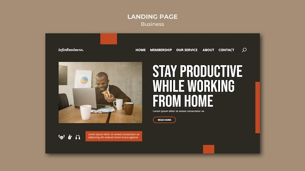 Business-landingpage