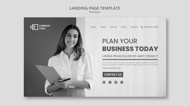 Business-landingpage