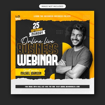 Business-live-webinar-social-media-post-banner-vorlage