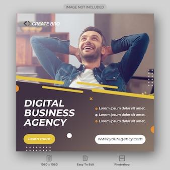 Business marketing social media post banner Premium PSD